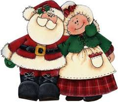 Tuesday., Dec. 17th-TOP SECRET  - Santa Claus  and Mrs. Claus are Coming to School