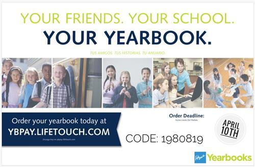 Order your 2018-2019 JCJHS Yearbook today!